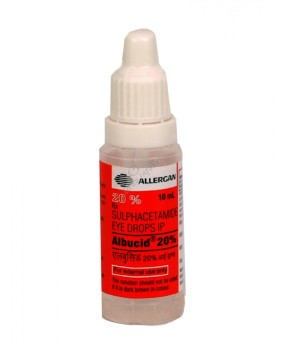 Albucid 20% Eye Drop