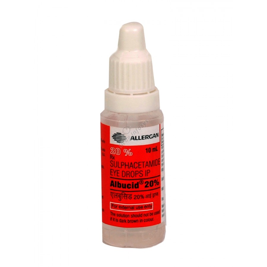 Antimicrobial Eye Drops Albucid 66
