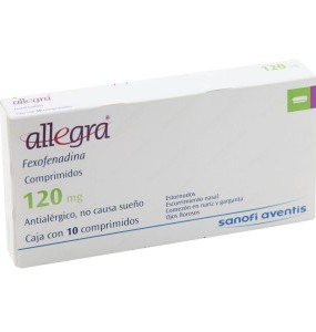 Allegra 120mg (Fexofenadine)