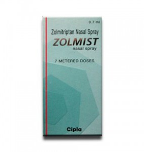 Zolmitriptan Nasal Spray 7 metered Doses