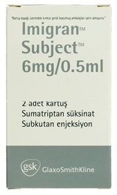 Imigran Subject – 6mg/0.5ml