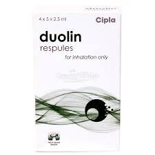 Duolin Respules – 1.25 mg + 500 mcg