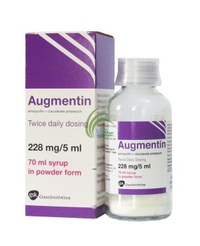 Augmentin Dry Syrup 30ml