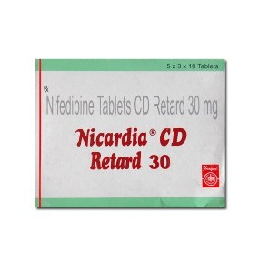 Nicardia-CD 30 MG