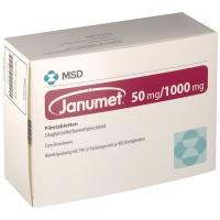 JANUMET 50+1000MG