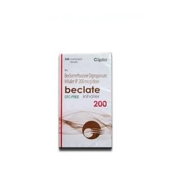Beclate Inhaler 200 mcg