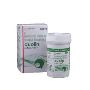 Duolin Rotacaps 100mg+40mg