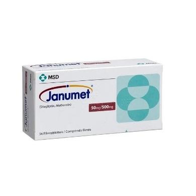 JANUMET 50+500MG