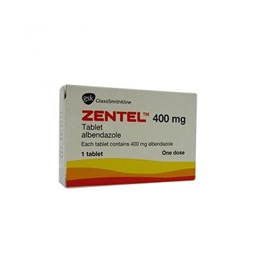 zentel tabletta 400 mg