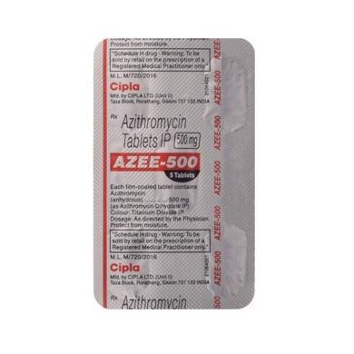 Azee 500 MG Tablets