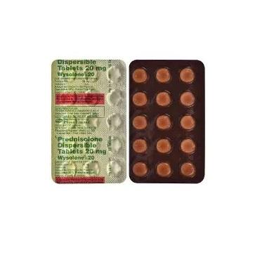 Prednisolone 20 mg